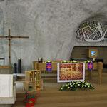 Kirchenbilder Raron - Felsenkirche St. Michael