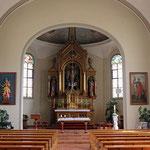 Kirchenbilder Oberuzwil (Bichwil) - Mauritius Kirche