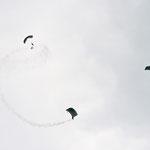 Eintreffen der Luftlandebrigade