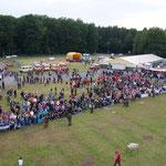 """Luftbild des Veranstaltungsgeländes """"Hinter der Ahe"""""""