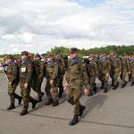 Ausmarsch der Soldaten 4AM