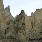 The Clay cliffs on our way to Dunedin