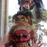 Ugly traditional masks