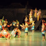 Ramayana Ballet in front of the Prambanan temple