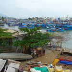Fishing harbour in Nha Trang