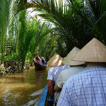 Boat trip through the Mekong Delta