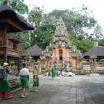 Temple in the Sacred Monkey Forest Sanctuary
