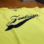 ZealMAN/フロッキープリントTシャツ表