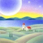 月明かりの丘