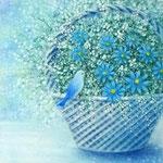 青い鳥とブルーデイジー