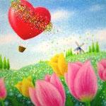 風船うさぎ 花の旅