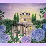 薔薇の咲く洋館