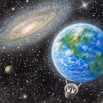 気球「The earth」に乗って
