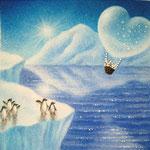 風船うさぎ 南極へ!