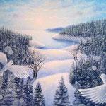 凍てつく森の目覚め