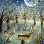 月夜の演奏会