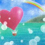 風船うさぎ 海の旅