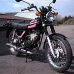 Cagiva SST 125 / 1980: Dies ist das erste Modell der Firma Cagiva nach der Aktien Übernahme von Harley Davidson in Italien.