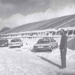 Zelt am Ringtreffen 1986