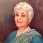 "2002 : Katie - Oil - 20""x16"" - Courtesy of AMBT, India"