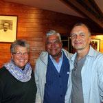 Shridhar with Judy Robinson & Gary Kleiner
