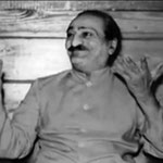 Meher Baba in the Lagoon Cabin