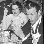 Dorothy with Gary Cooper