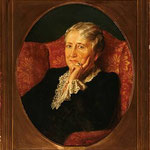 Portrait of Bessie Gardner Dupont ( with frame )