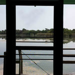 view from inside the boathouse - photo by Anthony Zois