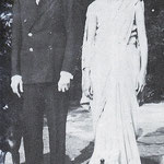 Mr Jinnah & his sister - Fatama , 1932