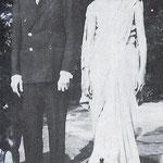 Mr Jinnah & his sister - Fatama , 1932