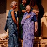 Mehera & Katie at U.Meherabad:  Photo courtesy of Laurel Glenn Magrini