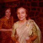 Mehera & Mani at Baba's Tomb:  Photo courtesy of Laurel Glenn Magrini