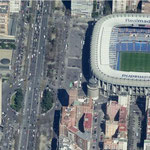 Paseo_Castellana and Real Madrid Stadium