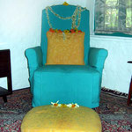 2004 - Baba's arm chair; photo taken by Sher DiMaggio