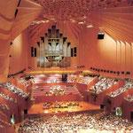 Inside the main concert hall - Sydney Opera House
