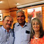 Shridhar with Tony and Sher Zois