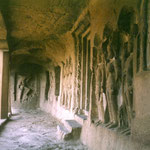 Jain Caves : Cave 31; photo by Anthony Zois