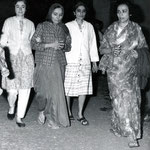 January 31st 1969 - Mehera being escorted by Mani, Meheru and Arnavaz