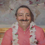 Meher Baba at Longchamps Restaurant, New York, 1956