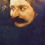 Julian's painting of Meher Baba