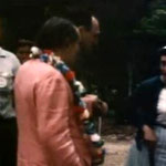 Baba with Harry Kenmore. 1958 - Image captured by Anthony Zois from a film.