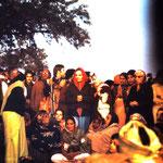 Dhuni, Jan.1975 - photo taken by Anthony Zois
