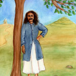 Meher Baba in his coat - 2008