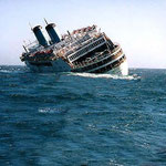 Sinking off South Africa on the way to Indian scrapyards