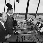 Air traffic control, Essendon Airport 1956