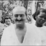 Baba with Beryl Williams on his right