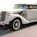 1935 Ford Auburn Deluxe Convertable Sedan