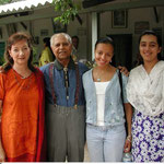 Cherie with Bhau Kalchuri