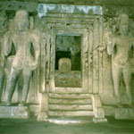 Jain Caves : photo by Lyn Haldeman